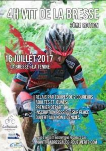 4h VTT LA BRESSE 16 juillet 2017